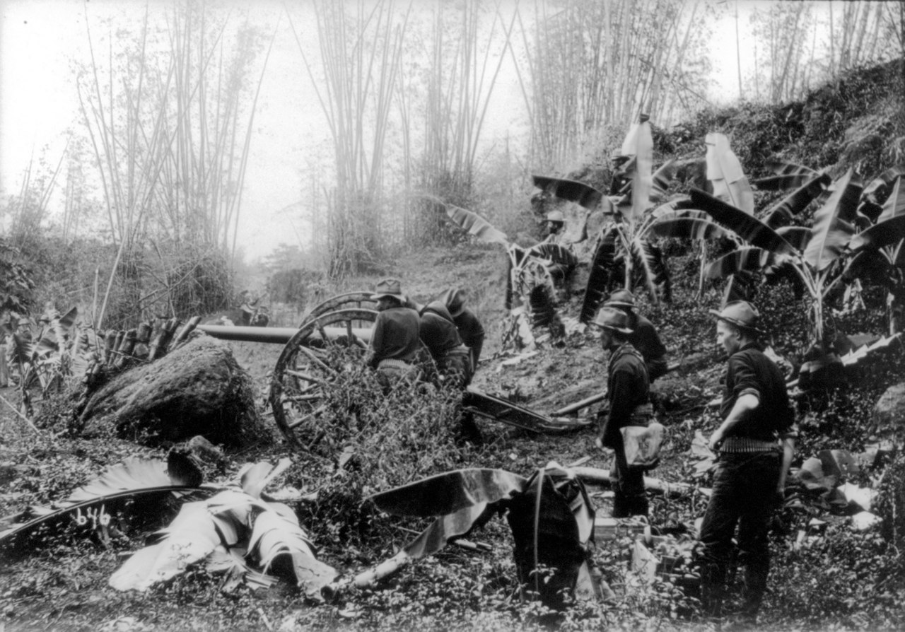 U.S Soldiers during the Philippine-American War